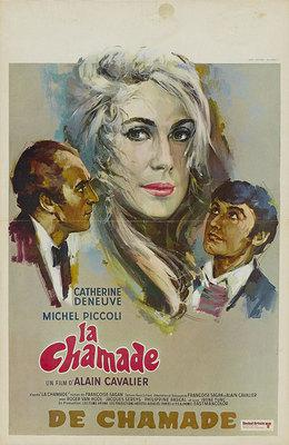 La Chamade - Poster Belgique