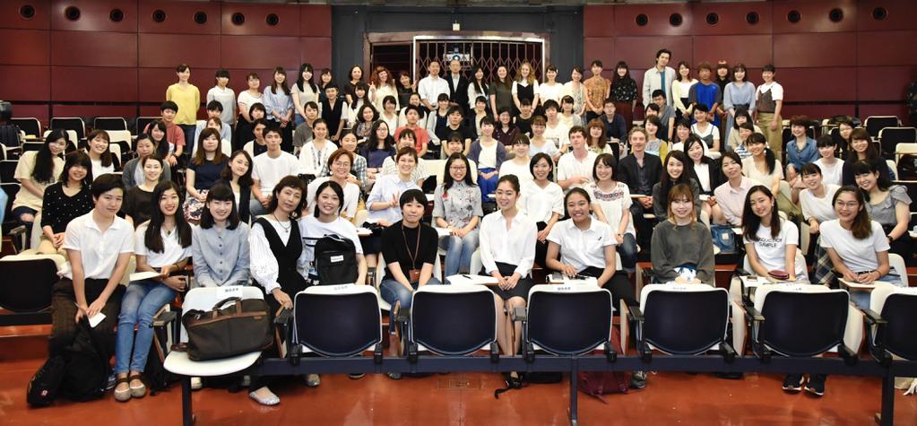 Swann Arlaud and Finnegan Oldfield give a master class at Yokohama National University