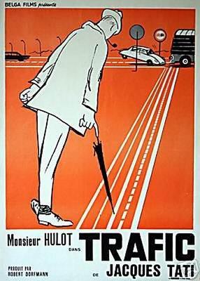 Trafic - Affiche belge