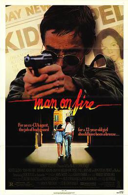 Man on Fire - Poster Etats-Unis