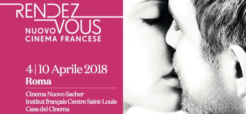 8ª edición de los Rendez-Vous con el Nuevo Cine Francés de Roma