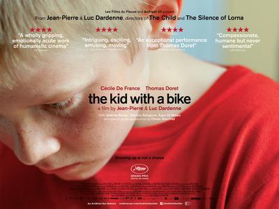 Le Gamin au vélo - Poster - Royaume-Uni