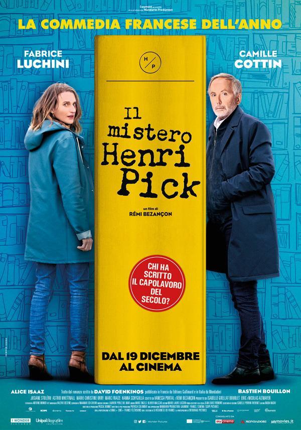 The Mystery Of Henri Pick De Rémi Bezançon 2018 Unifrance