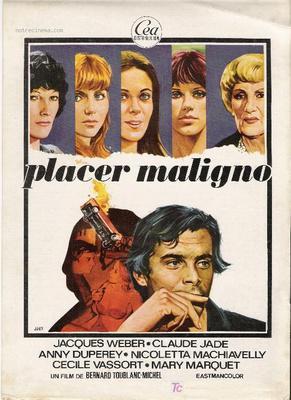 Le Malin Plaisir - Poster Espagne