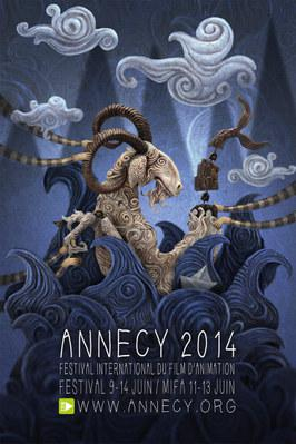 Festival international du film d'animation d'Annecy - 2014