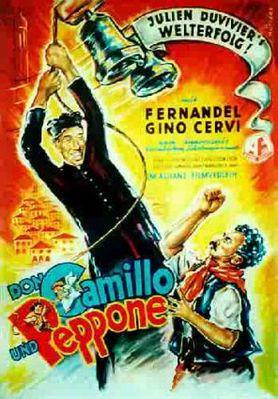 Le Petit Monde de Don Camillo - Poster Allemagne