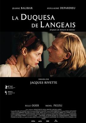 ランジェ公爵夫人 - Poster Espagne