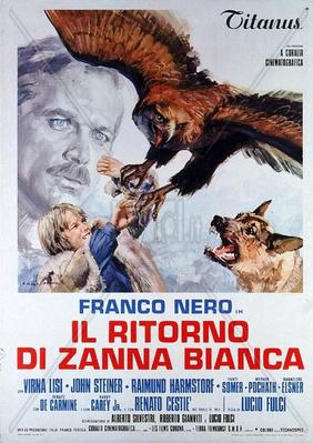 Challenge to White Fang  - Poster - Italie