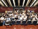 Swann Arlaud et Finnegan Oldfield en masterclass à l'Université de Yokohama