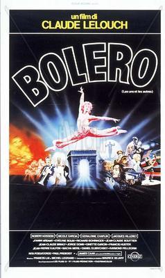 愛と哀しみのボレロ - Affiche italienne