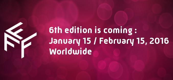 Les dates de la prochaine édition de myFrenchFilmFestival !