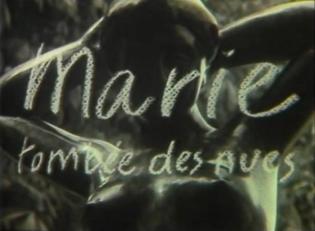 Marie tombée des nues