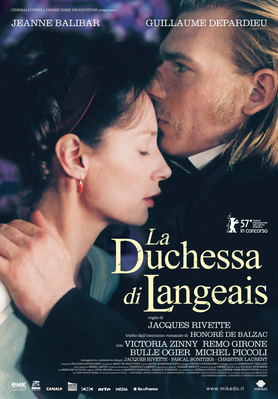 The Duchess of Langeais / Don't Touch the Axe - Poster Italie