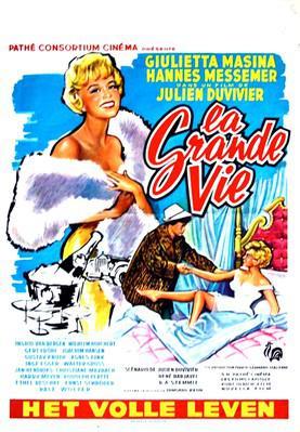 La Grande Vie - Poster - Belgique