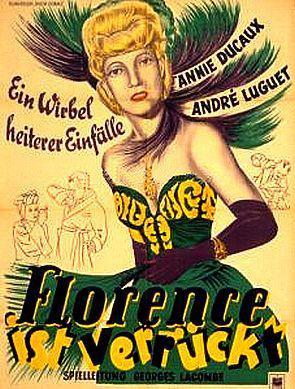 Florence est folle - Poster Allemagne