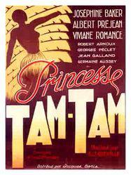 princesse tam tam 1935 unifrance films. Black Bedroom Furniture Sets. Home Design Ideas