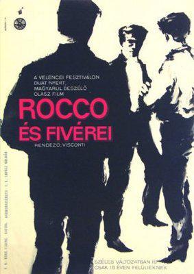 Rocco et ses frères - Poster Hongrie