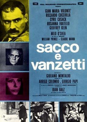 Sacco y Vanzetti - © Poster Italie