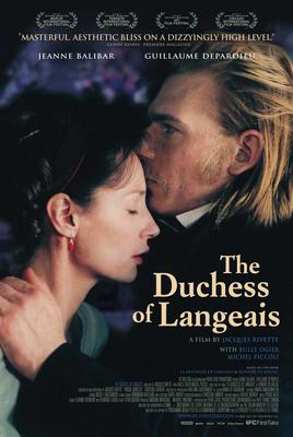 ランジェ公爵夫人 - Poster Etats-Unis
