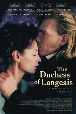 The Duchess of Langeais / Don't Touch the Axe - Poster Etats-Unis