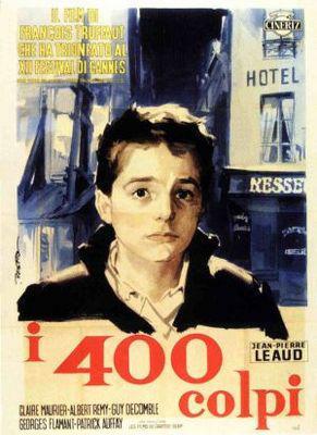 Los 400 Golpes - Poster Italie