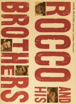 Rocco et ses frères - Poster États-Unis