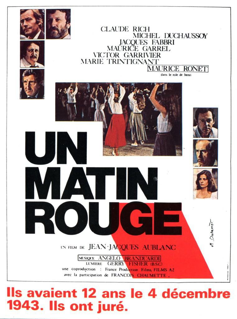 Un matin rouge - Poster France