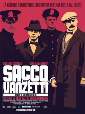 Sacco & Vanzetti - Affiche ressortie française