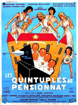 Des quintuplés au pensionnat