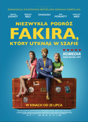 L'Extraordinaire Voyage du fakir - Poster - Poland