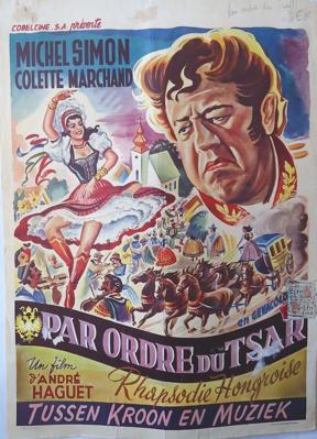 Hungarian Rhapsody - Poster Belgique