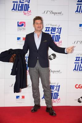 Primera Gira del Cine Francés en Corea - Thomas Bidegain