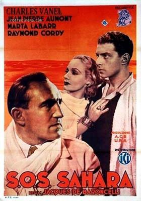 S.O.S. Sahara - Poster Italie