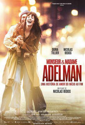 Monsieur & Madame Adelman - Poster - Brazil