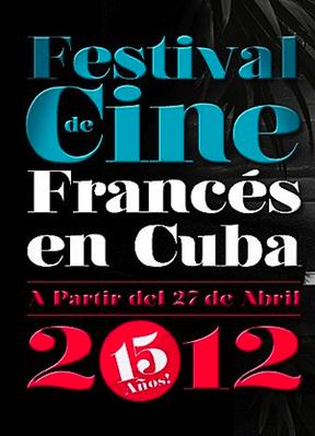 Festival de Cine Francés de Cuba - 2012