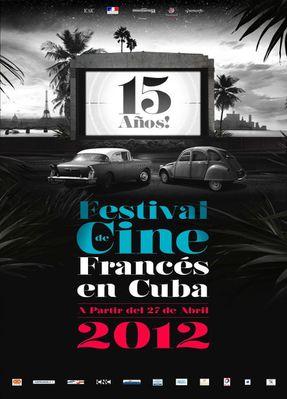 Festival du film français de Cuba - 2012