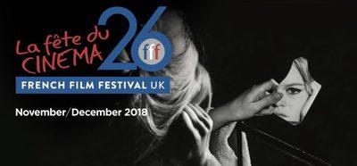 A fine 26th French Film Festival UK ahead! !