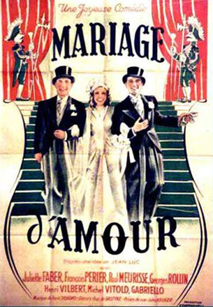 Mariage d'amour
