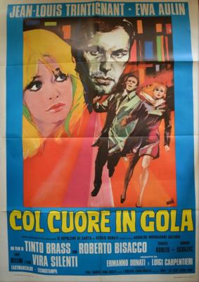 Con el corazón en la garganta - Poster Italie