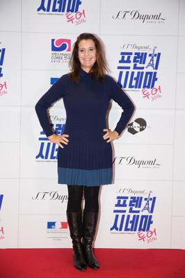 Premier Tour du Cinéma Français en Corée - Pascale Pouzadoux