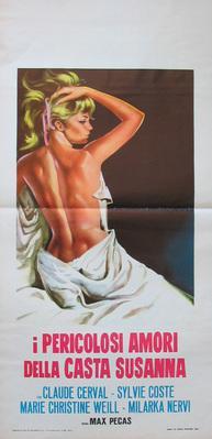 Une femme aux abois (ou La Prisonnière du désir ou Désirs sauvages) - Poster Italie