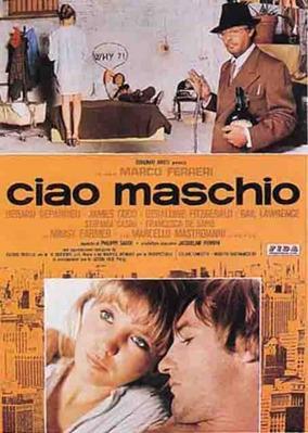 Adiós al macho - Poster Italie