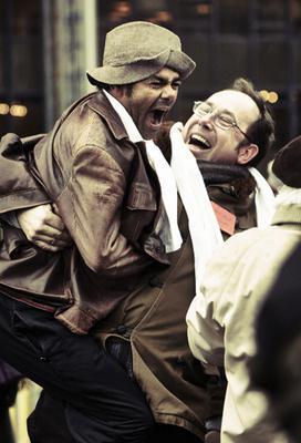 La Marche - © 2013 / Chi-Fou-Mi Productions / Europacorp / France 3 Cinema / Kiss Films / Entre Chien Et Loup / L'Antilope Joyeuse Photographes : Marcel Hartmann & Thomas Bremond