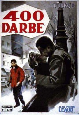 Los 400 Golpes - Poster Turquie