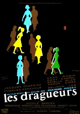 Les Dragueurs - Poster France