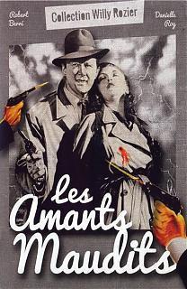 Les Amants maudits - Jaquette DVD France