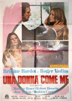 Don Juan 1973 ou Si Don Juan était une femme... - Poster - Italy