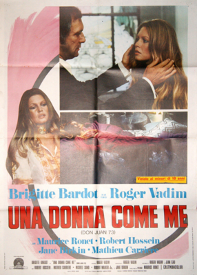 Don Juan (Or If Don Juan Were a Woman) - Poster - Italy