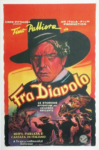 Fra Diavolo - Poster - Italy
