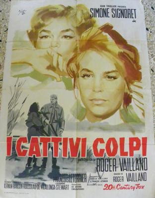 Les Mauvais Coups - Poster Italie